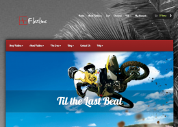 Flatline Industries Web Design