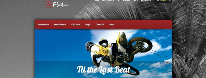 Flatline Industries Web Design