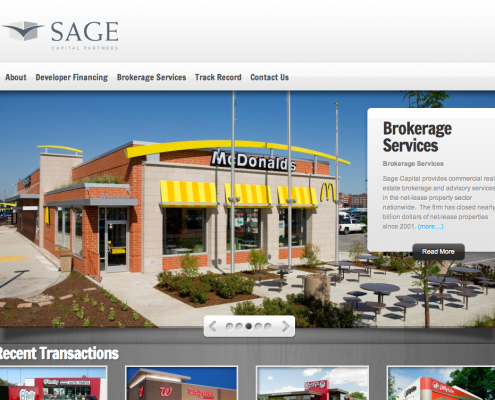 Sage Capital Web Design