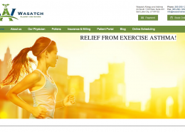 Wasatch Allergy Web Design